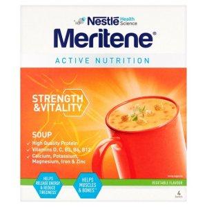 Meritene Vegetable Soup 4 x 50g