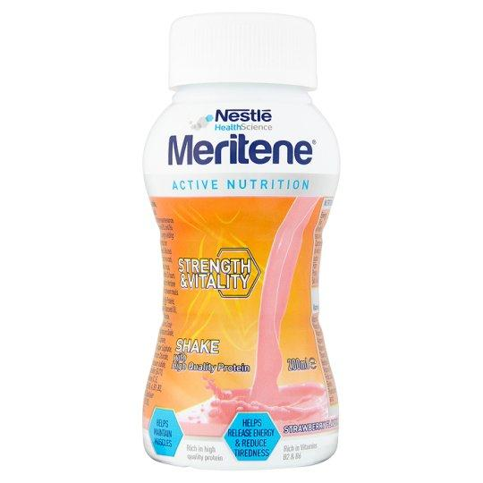 Meritene Strawberry Drink 200ml