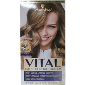 Schwartzkopf Vital Colours Medium Blonde 8-0