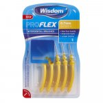 Wisdom Pro Flex Interdental Brushes 0.7mm Yellow Pack of 5