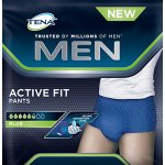 TENA Men Active Fit Plus Medium Pack of 9