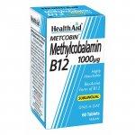 HealthAid Methylcobalamin Metcobin 1000mcg Tablets Pack of 60