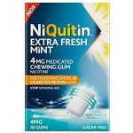 Niquitin Extra Fresh Mint Gum 4mg Pack of 30