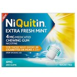 Niquitin Extra Fresh Mint Gum 4mg Pack of 200