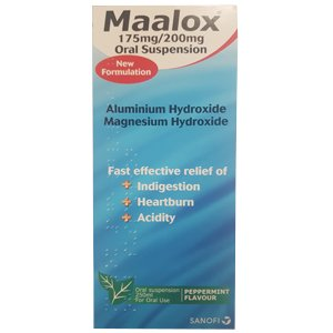 Maalox Suspension 250ml