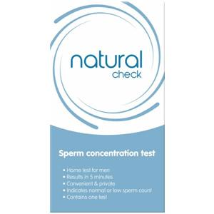 Natural Check Sperm Concentration Test