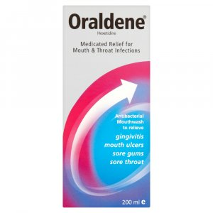 Oraldene Medicated Mouthwash 200ml