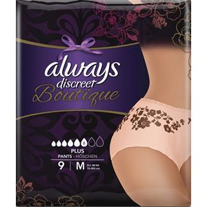 Always Discreet Boutique Pants Plus Medium Pack of 9