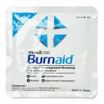 Burnaid Hydrogel Impregnated Dressing 10cm x 10cm