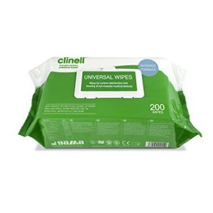 Clinell Universal Wipes Pack of 200