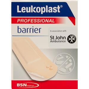 Leukoplast Professional Barrier Plasters Pack of 10