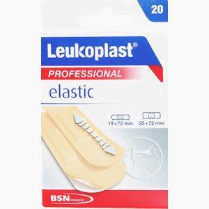 Leukoplast Professional Elastic Plasters Pack of 20