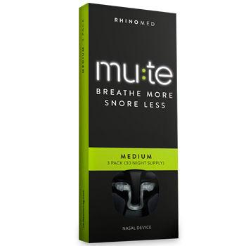 Mute Nasal Dilator Medium Pack of 3 (30 Night Supply)
