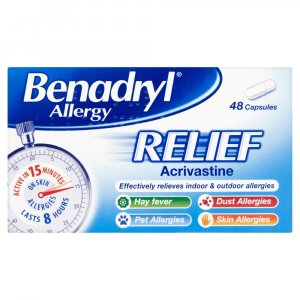 Benadryl Allergy Relief 8mg Ca...