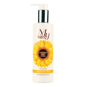 My Trusty Fragrance Free Sunflower Body Lotion 250ml