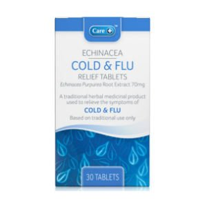 Care Echinacea Cold & Flu Relief Tablets Pack of 30