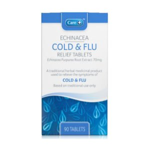 Care Echinacea Cold & Flu Relief Tablets Pack of 90