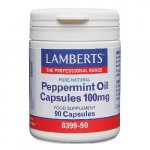 Lamberts Peppermint Oil Capsules 100mg Pack of 90