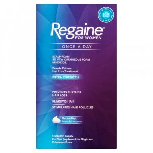 Regaine For Women Once-a-Day Scalp Foam 4 Month Supply