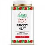 Snake Brand Prickly Heat Original Cooling Powder 140g