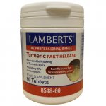 Lamberts Turmeric Fast Release Tablets Pack of 60