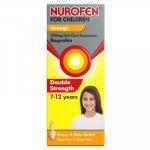 Nurofen for Children Double Strength Oral Suspension Orange 100ml