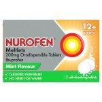 Nurofen Meltlets Orodispersible Tablets Pack of 12