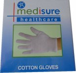 Medisure Cotton Gloves Large
