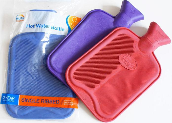 Single Ribbed Hot Water Bottle