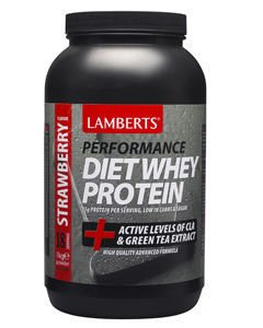 Lamberts Performance Diet Whey Protein Strawberry Flavour 1kg