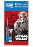 Oral B Star Wars Kids Electric Toothbrush Gift Set