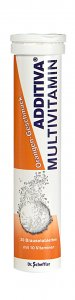Additiva Orange Multivitamin Effervescent Tablets Pack of 20