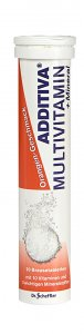 Additiva Orange Multivitamin + Mineral Effervescent Tablets Pack of 20