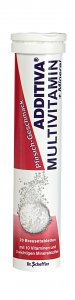 Additiva Peach Multivitamin + Mineral Effervescent Tablets Pack of 20