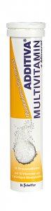 Additiva Tangerine Multivitamin + Mineral Effervescent Tablets Pack of 20
