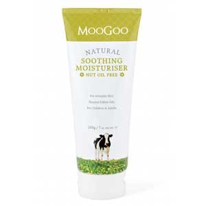 MooGoo Natural Soothing Moisturiser Nut Oil Free 200g