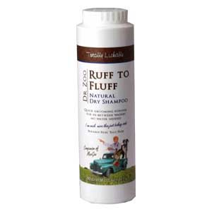 Dr Zoo Ruff To Fluff Natural Dry Shampoo 300g