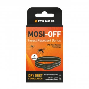 Pyramid Mosi-Off Insect Repellent Bands Pack of 4