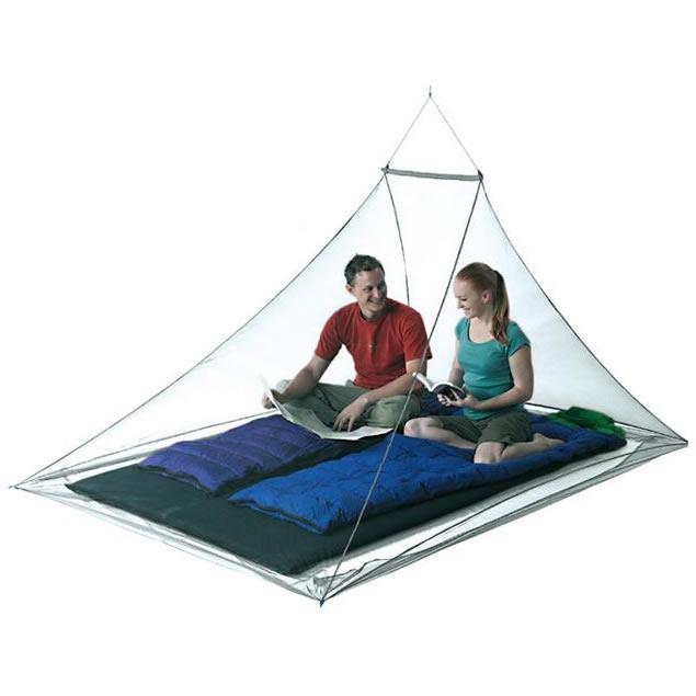 Pyramid Premium Wedge Mosquito Net Double