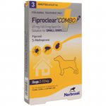 Fiproclear Combo for Small Dogs Pipettes Pack of 3