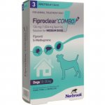 Fiproclear Combo for Medium Dogs Pipettes Pack of 3
