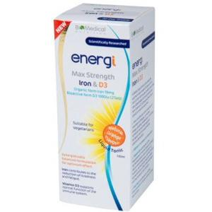 Energi Max Strength Iron & D3 Tonic 150ml
