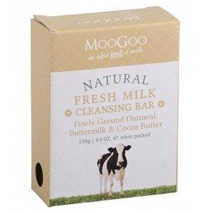 MooGoo Fresh Milk Oatmeal Cleansing Bar 130g