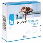 Droncit Spot-on 20mg Solution for Cats Pack of 4