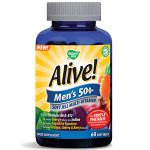 Alive! Men's 50+ Soft Jells Pack of 60