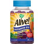 Alive! Vitamin D3 Soft Jells Pack of 60