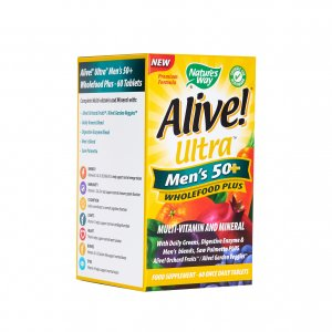 Alive! Ultra Men's 50+ Tablets Pack of 60