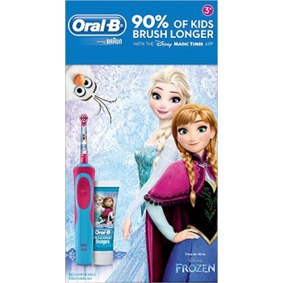Oral B Frozen Kids Electric Toothbrush Gift Set