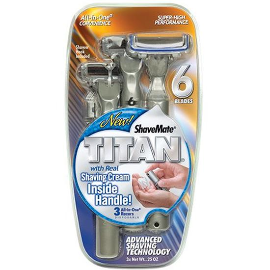 Shavemate Titan Pack of 3