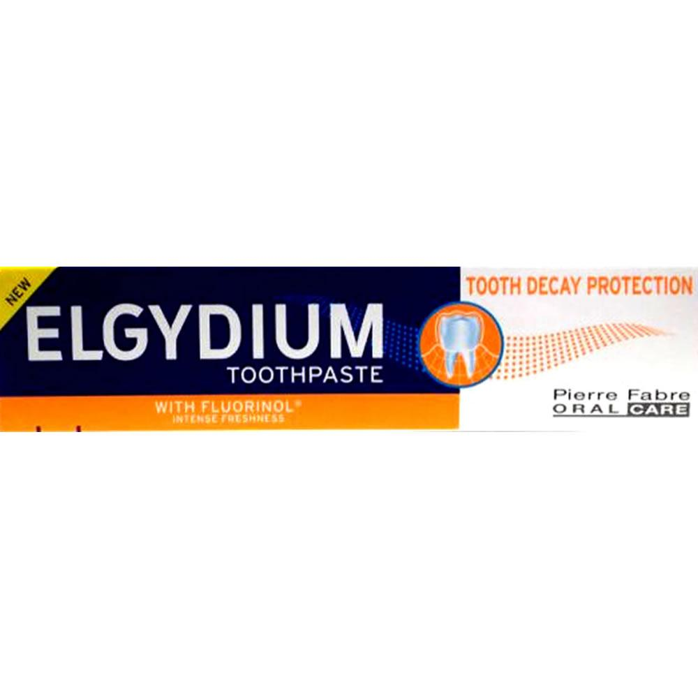 Elgydium Tooth Decay Protection Toothpaste 75ml Pack of 3